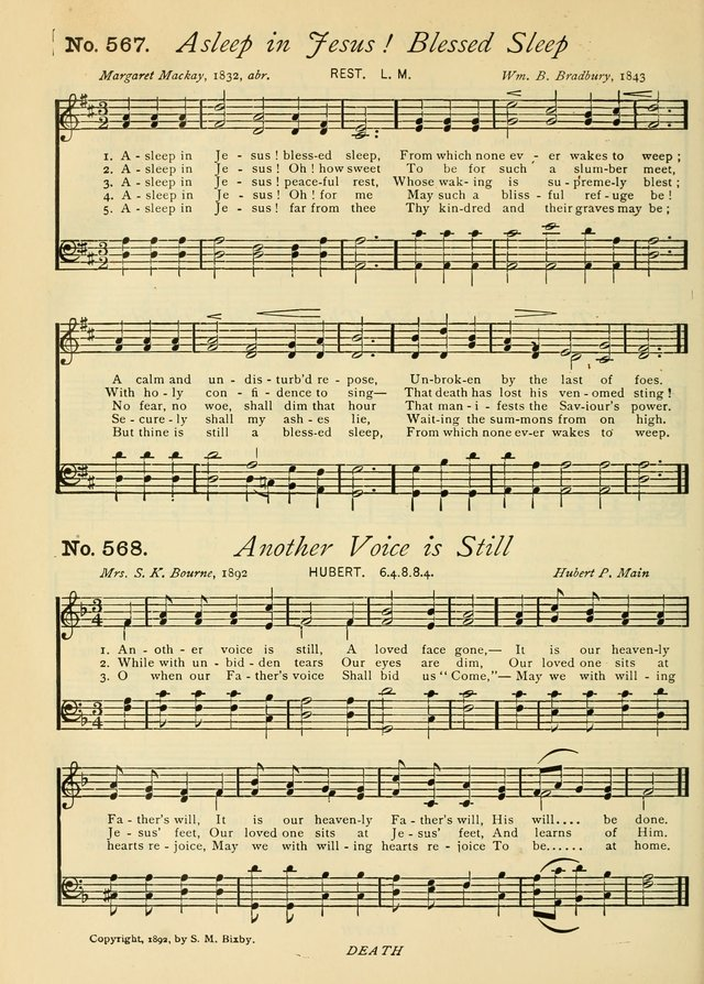 Gloria Deo: a Collection of Hymns and Tunes for Public Worship in all Departments of the Church page 406