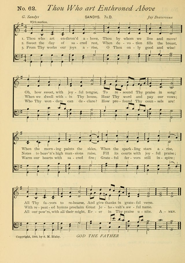 Gloria Deo: a Collection of Hymns and Tunes for Public Worship in all Departments of the Church page 44