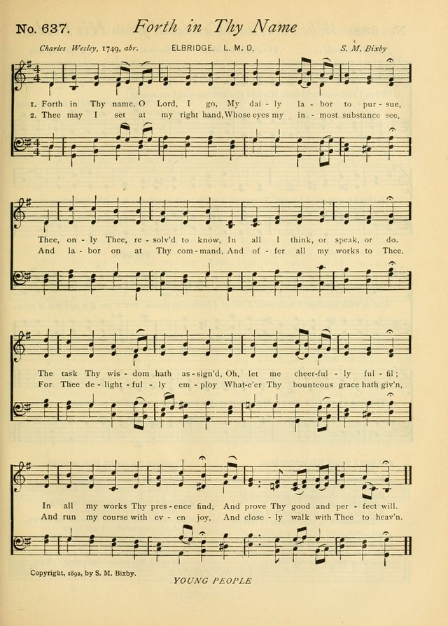 Gloria Deo: a Collection of Hymns and Tunes for Public Worship in all Departments of the Church page 465