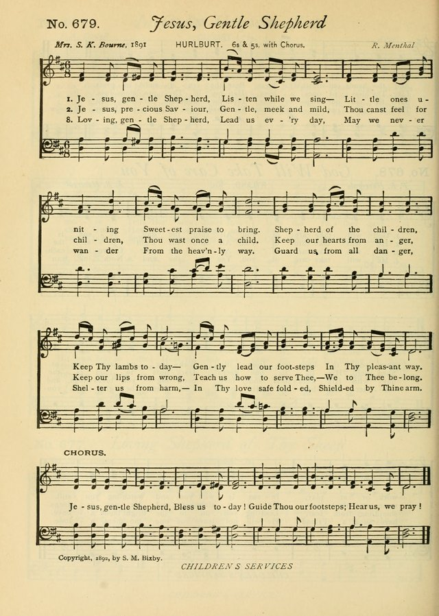 Gloria Deo: a Collection of Hymns and Tunes for Public Worship in all Departments of the Church page 498