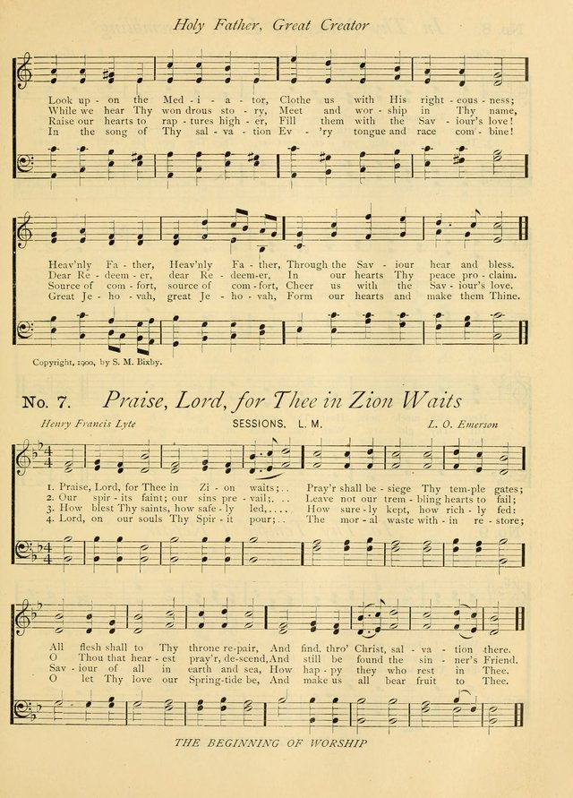 Gloria Deo: a Collection of Hymns and Tunes for Public Worship in all Departments of the Church page 5