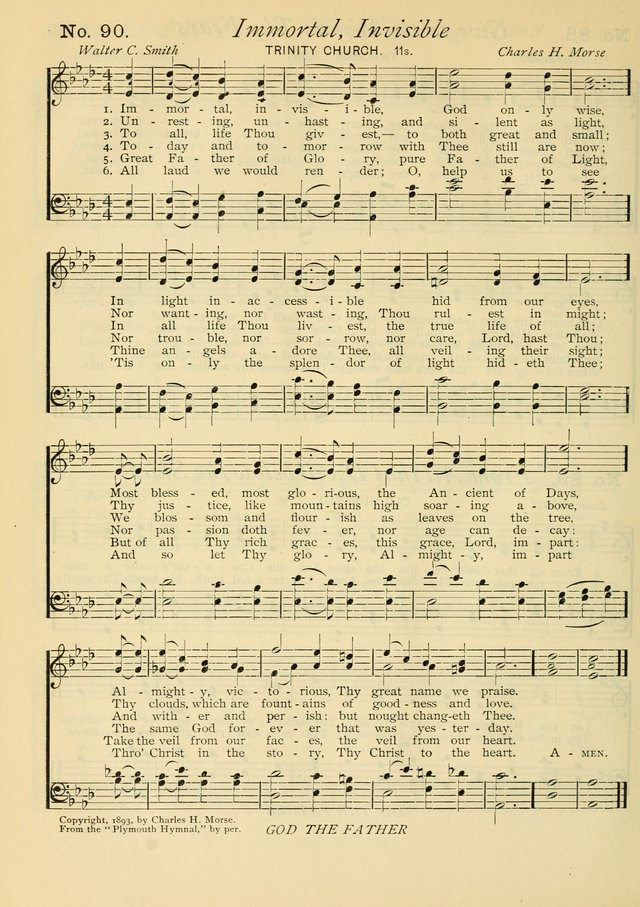 Gloria Deo: a Collection of Hymns and Tunes for Public Worship in all Departments of the Church page 64