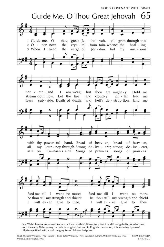 Glory to God: the Presbyterian Hymnal page 127