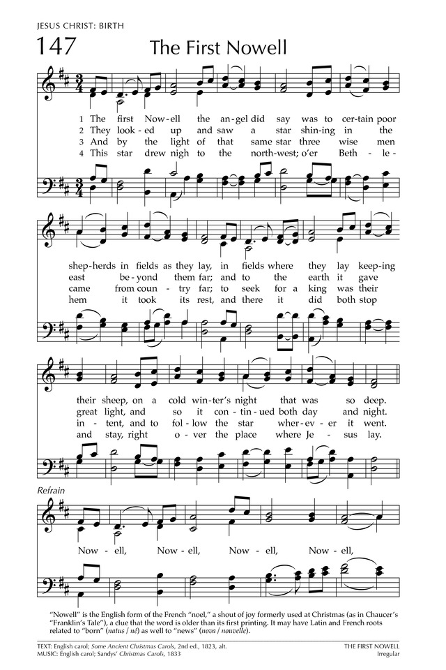 Glory to God: the Presbyterian Hymnal page 222