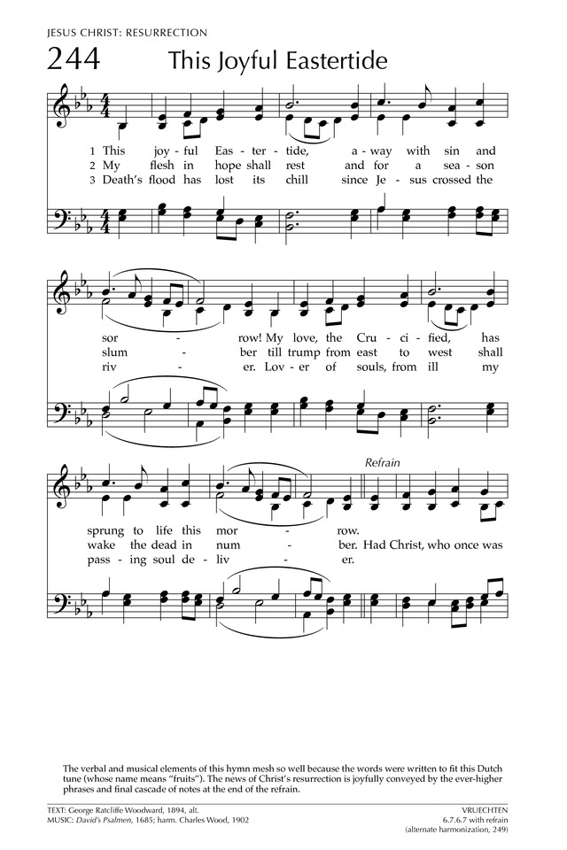 Glory to God: the Presbyterian Hymnal page 335