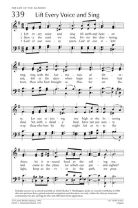picture regarding Black National Anthem Lyrics Printable identified as Elevate Every single Voice and Sing