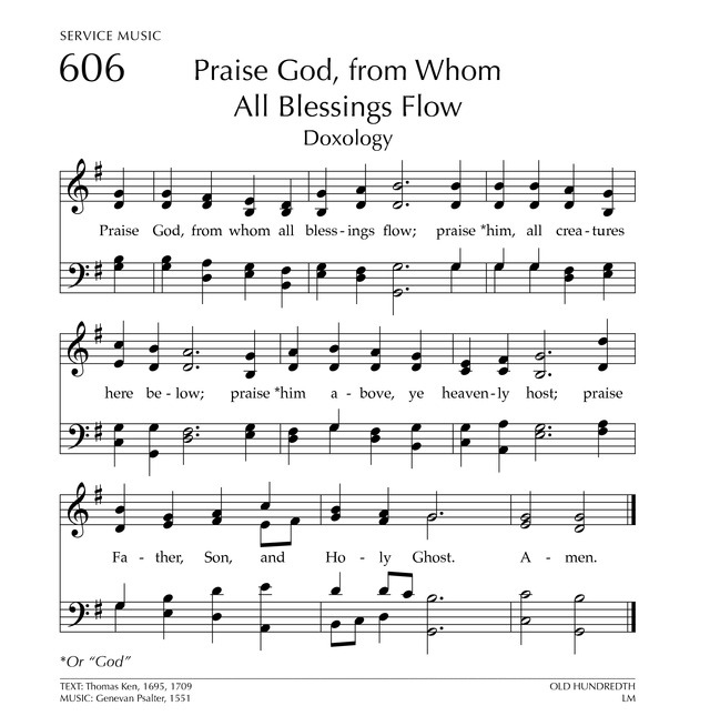 Glory to God: the Presbyterian Hymnal page 762