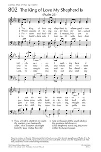 The King of Love My Shepherd Is   Hymnary org