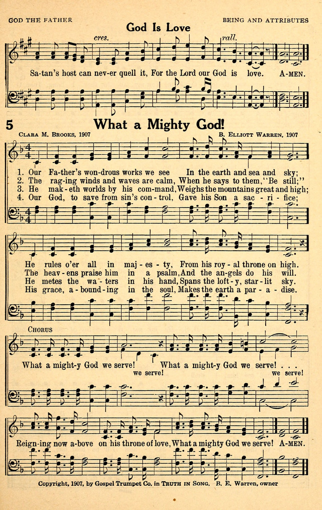 What a Mighty God We Serve! - Hymnary.org