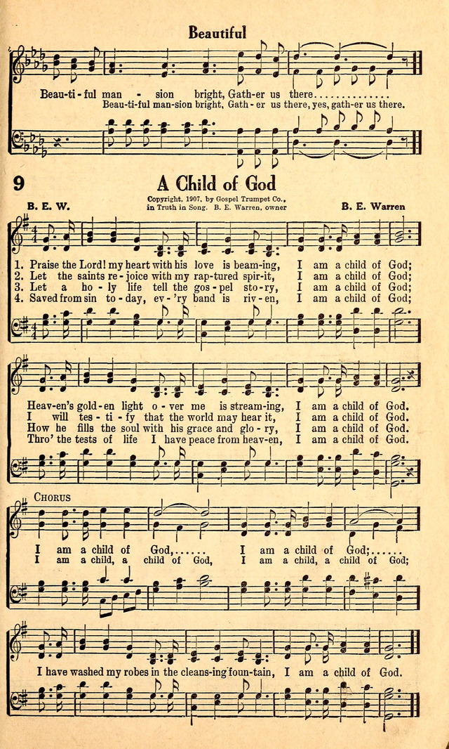 Great Gospel Songs page 9 | Hymnary org