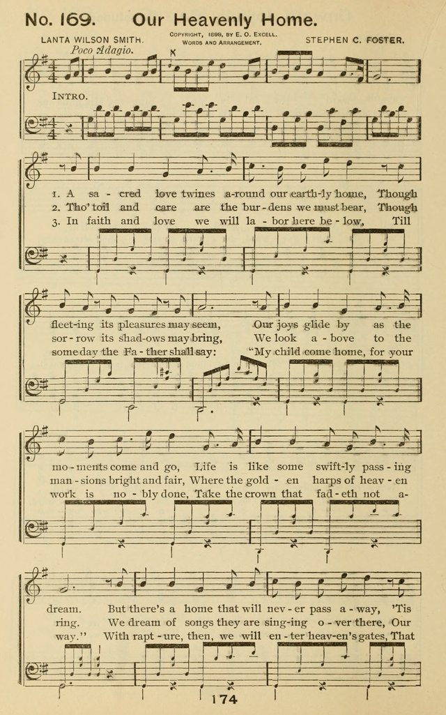 The Gospel Hymnal for Sunday school and church work page 174