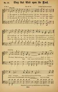 Lyric i will call upon the lord lyrics : They that wait upon the Lord | Hymnary.org