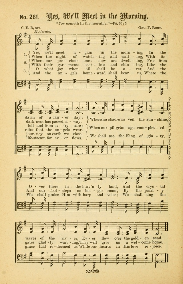 Gospel Hymns Nos. 5 and 6 Combined: for use in gospel meetings and other religious services page 235