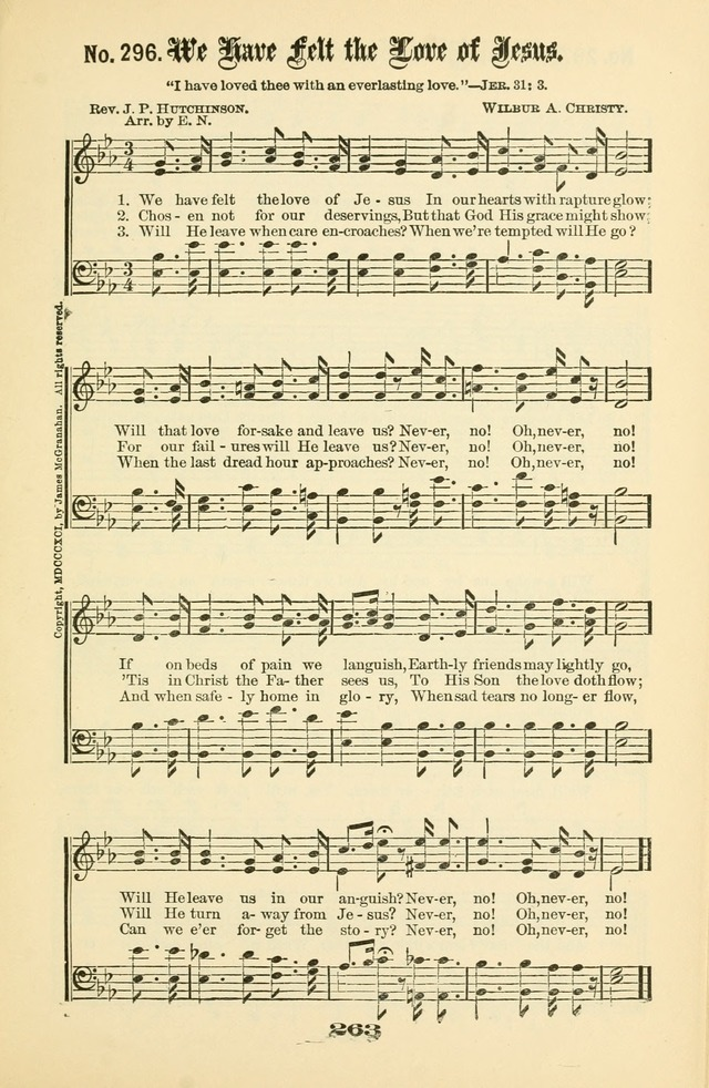 Gospel Hymns Nos. 5 and 6 Combined: for use in gospel meetings and other religious services page 270