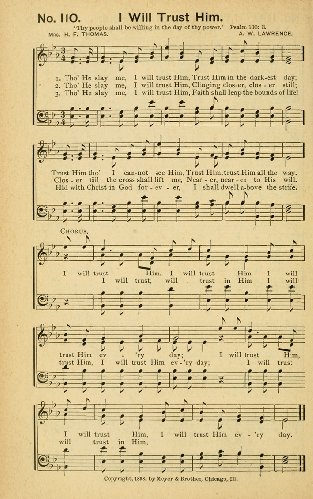 Gospel Herald in Song page 108