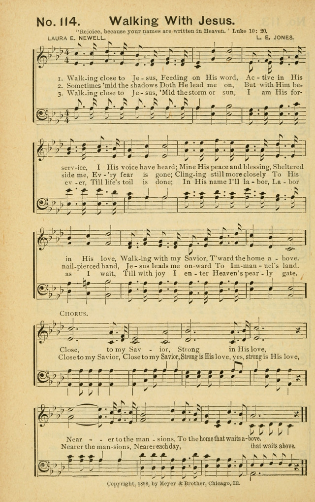Gospel Herald in Song page 112