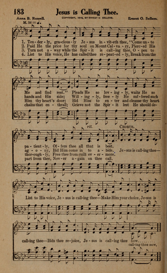 Gospel Hymns and Songs: for the Church, Sunday School and Evangelistic Services page 190