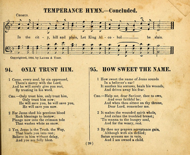 Gospel Jewels 93  Water pure is God's distilling | Hymnary org