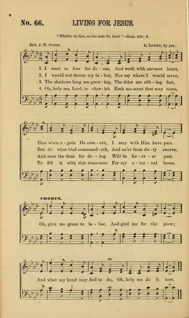 Gospel Music : A Choice Collection of Hymns and Melodies New and Old for Gospel, Revival, Prayer and Social Meetings, Family Worship, etc.  page 64