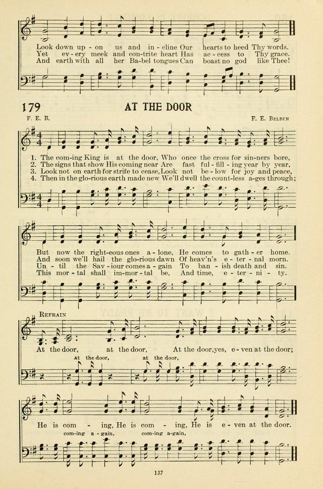 Even at the door | Hymnary org