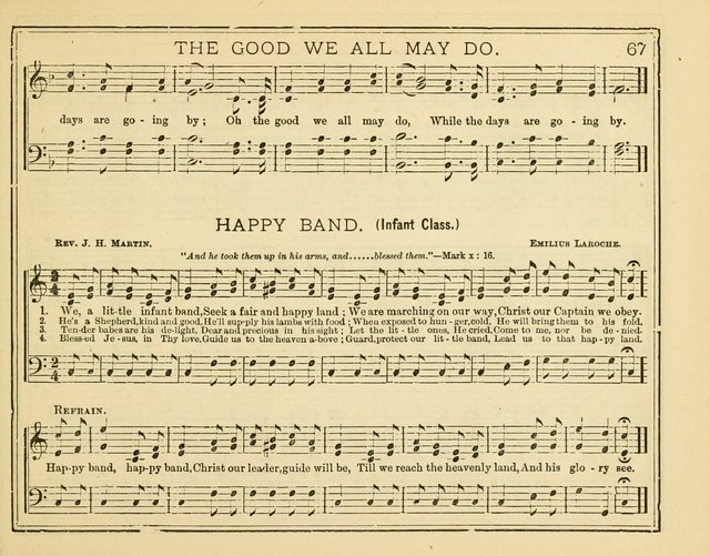 Good News : or songs and tunes for Sunday schools, Christian associations, and special meetings page 65