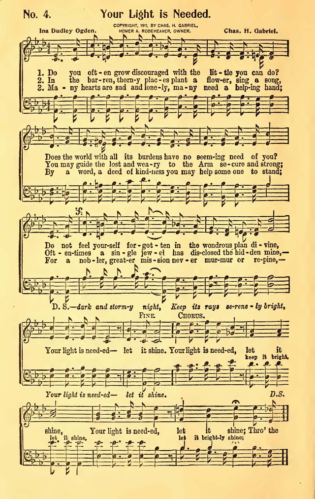 Great Revival Hymns No.2 page 4