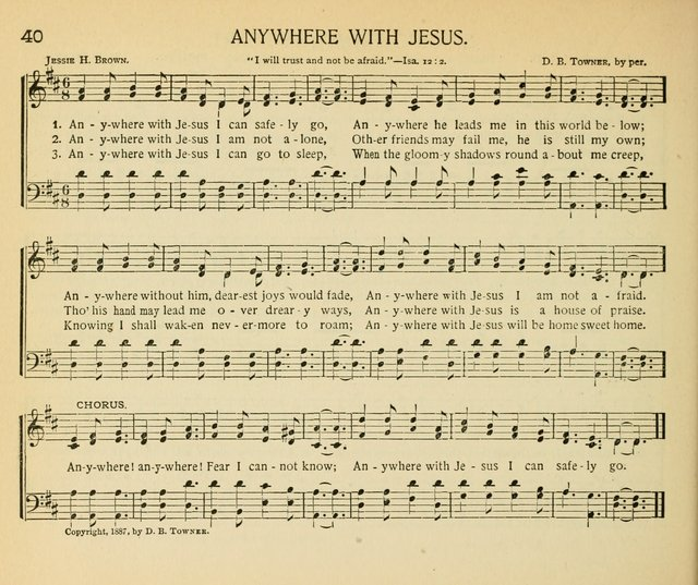 Anywhere with Jesus | Hymnary.org
