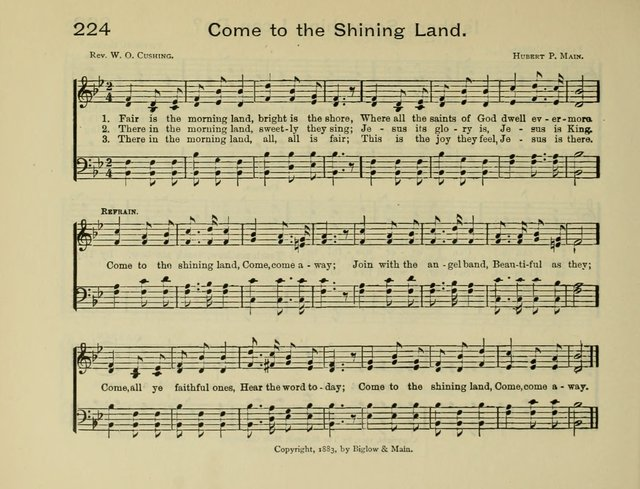 Gems of Song: for the Sunday School page 229