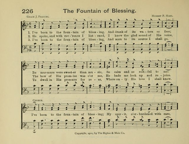 Gems of Song: for the Sunday School page 231