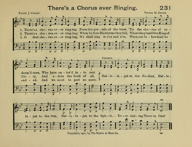 Gems of Song: for the Sunday School page 236