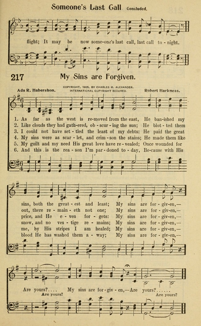 Glad Tidings in Song page 219