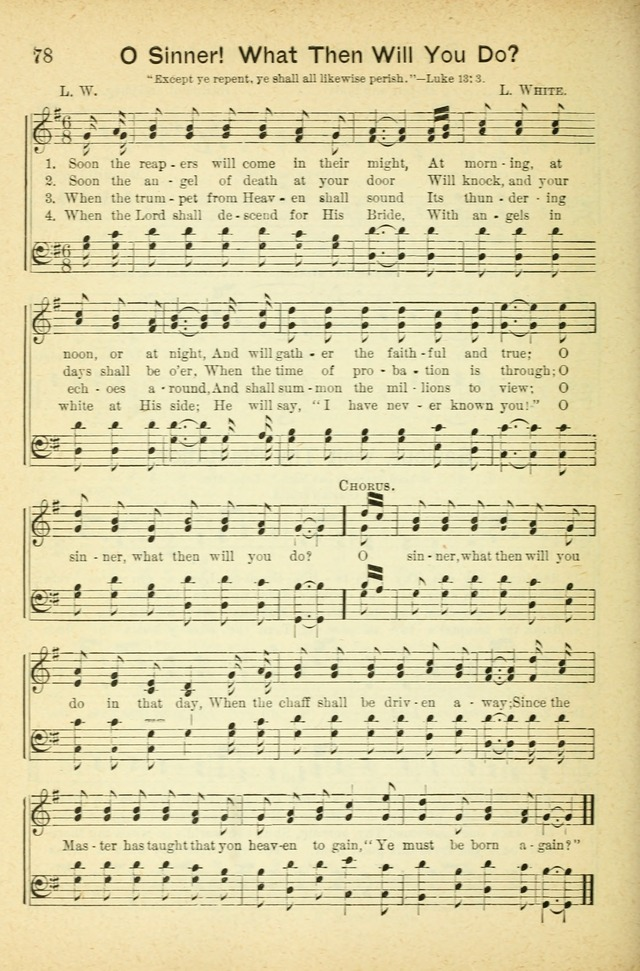 Gospel trio of sacred song: for gospel meetings, Christian associations and young peoples