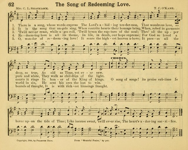 Glorious Things in Sacred Song for use in Sabbath Schools and Gospel Meetings page 60