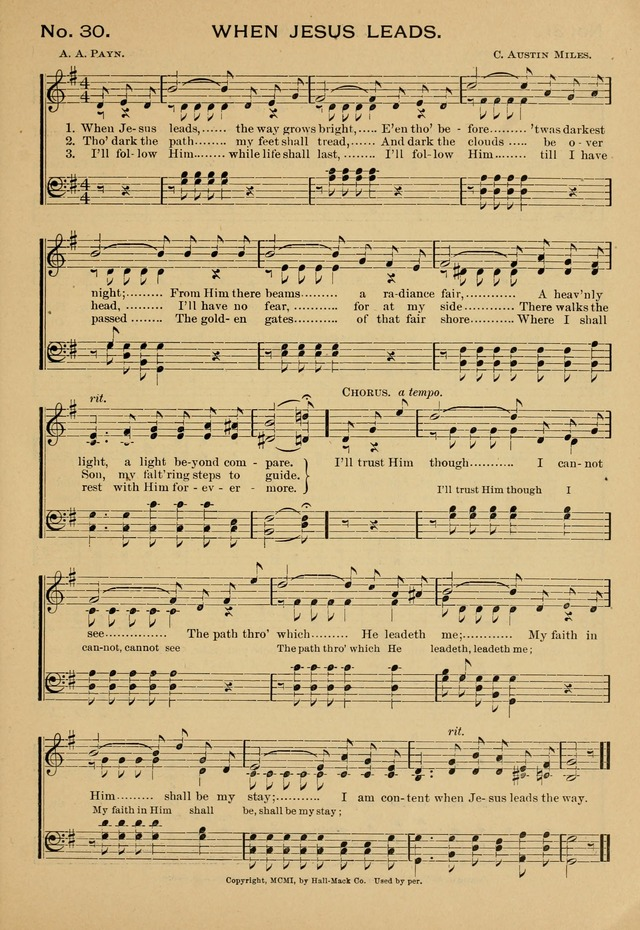 Give Thanks and Sing: for use in all religious meetings page 29