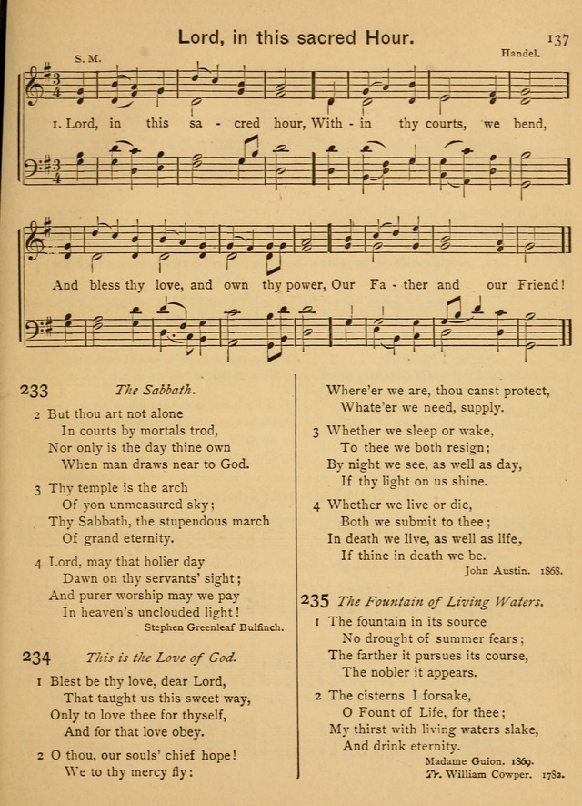 Good Will Songs: a Compilation of Hymns and Tunes page 136