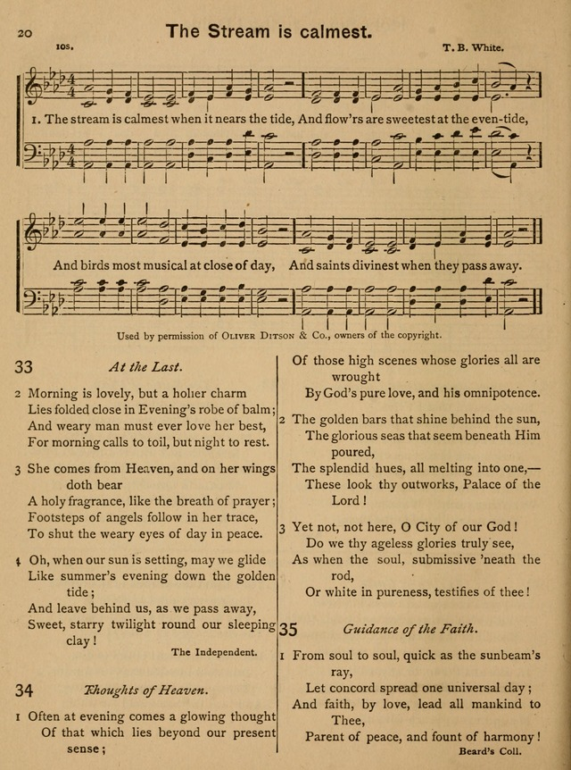 Good Will Songs: a Compilation of Hymns and Tunes page 21