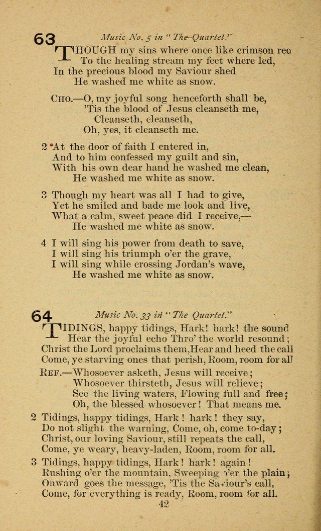 Gems of Gospel Songs 64. Tidings, happy tidings, Hark! hark! the ...