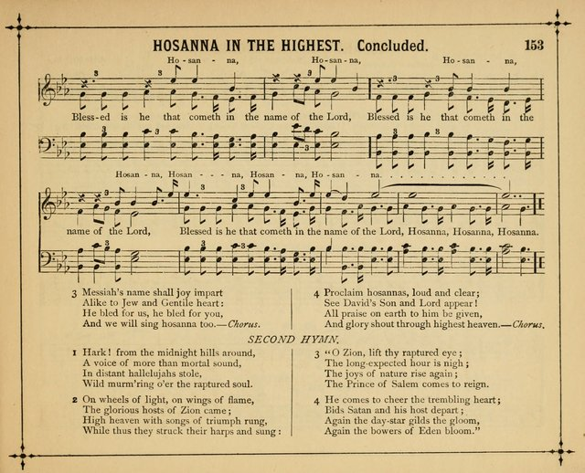 Garlands of Praise: a choice collection of original and selected hymns and tunes suitable for Sunday-Schools, Bible classes and the home circle page 158