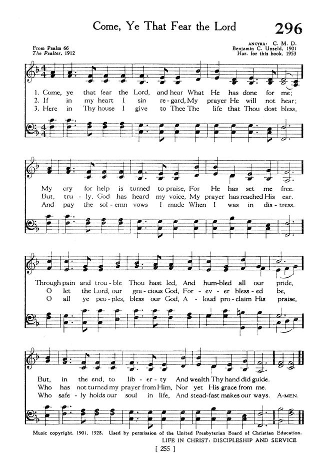 The Hymnbook page 255