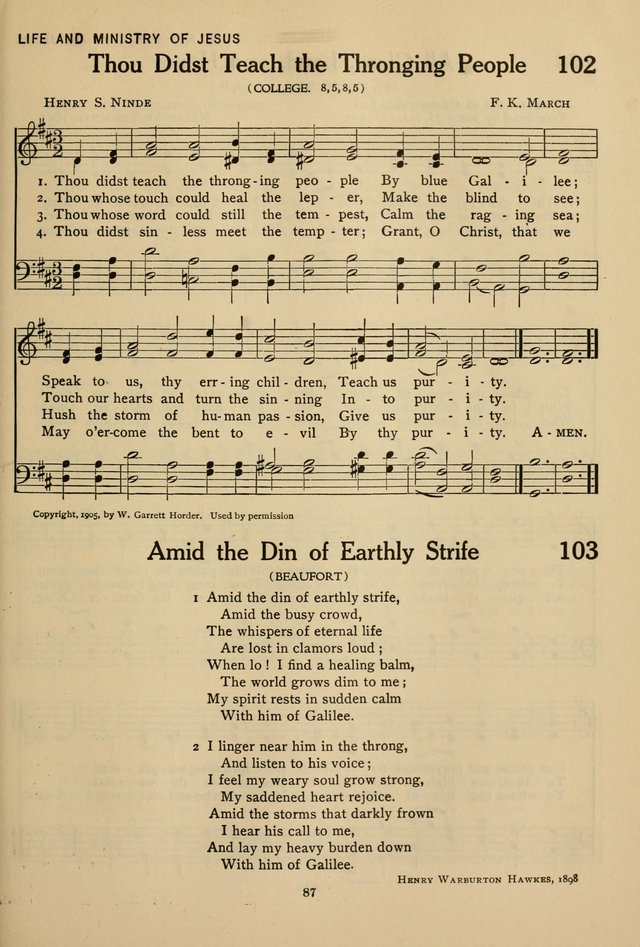 Hymnal for American Youth page 88