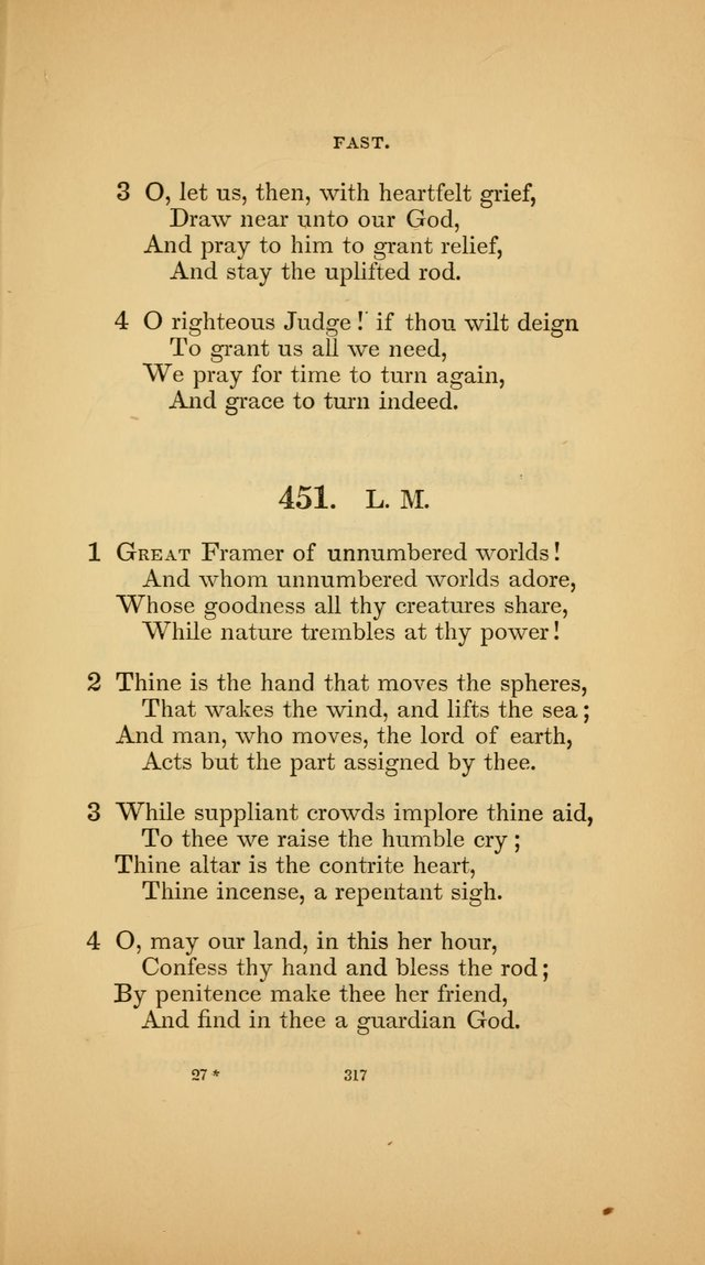 Hymns for the Church of Christ (3rd thousand) page 317