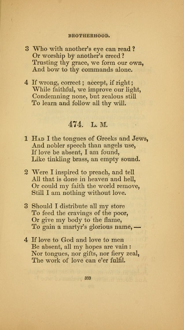 Hymns for the Church of Christ (3rd thousand) page 333