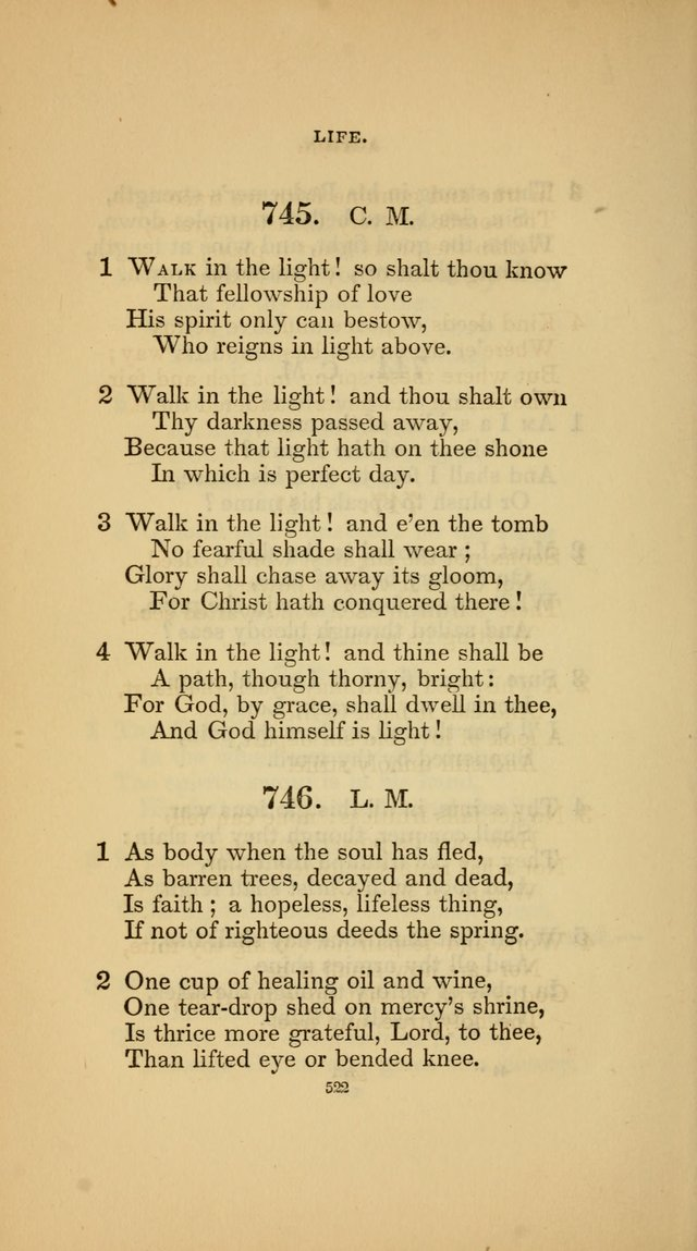 Hymns for the Church of Christ (3rd thousand) page 522