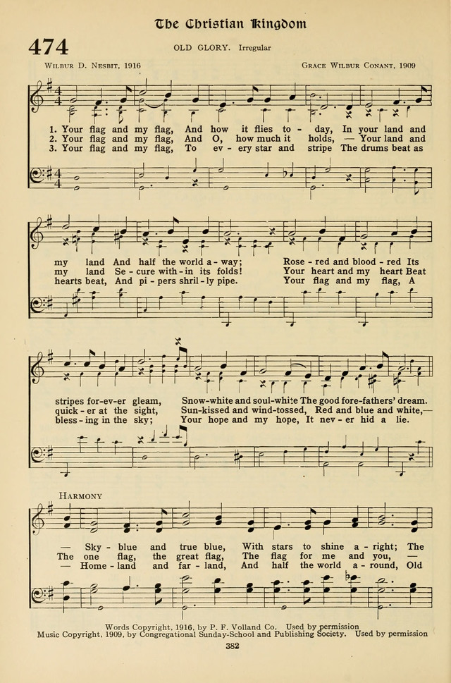 Hymns for the Living Age page 382