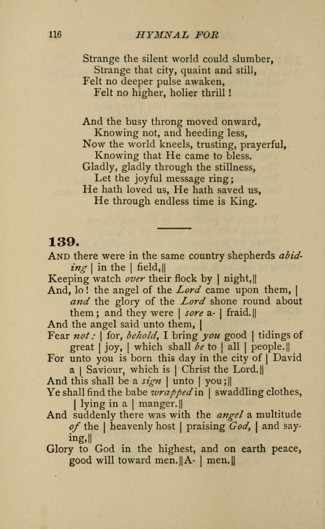 Hymnal for Primary Classes: a collection of hymns and tunes, recitations and exercises, being a manual for primary Sunday-schools page 113