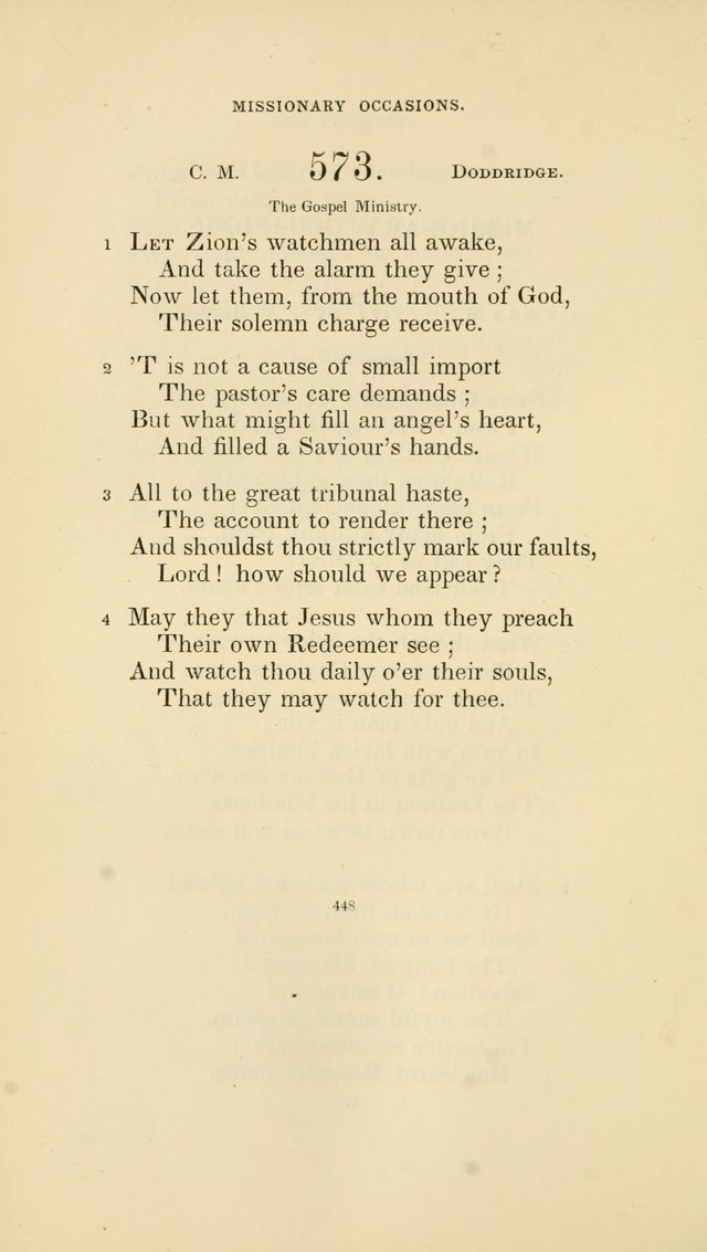 Hymns for the Sanctuary page 449