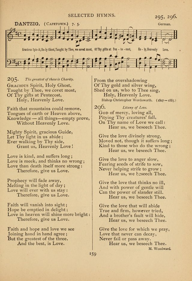 Hymnal, Amore Dei. Rev. ed. page 184