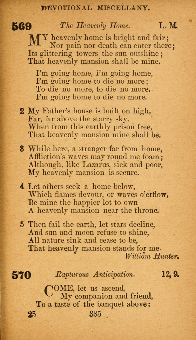 Hymnal Adapted to the Doctrines and Usages of the African Methodist Episcopal Church. Revised Edition page 393