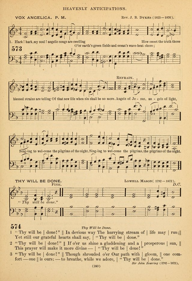 Hymns of the Ages for Public and Social Worship page 245