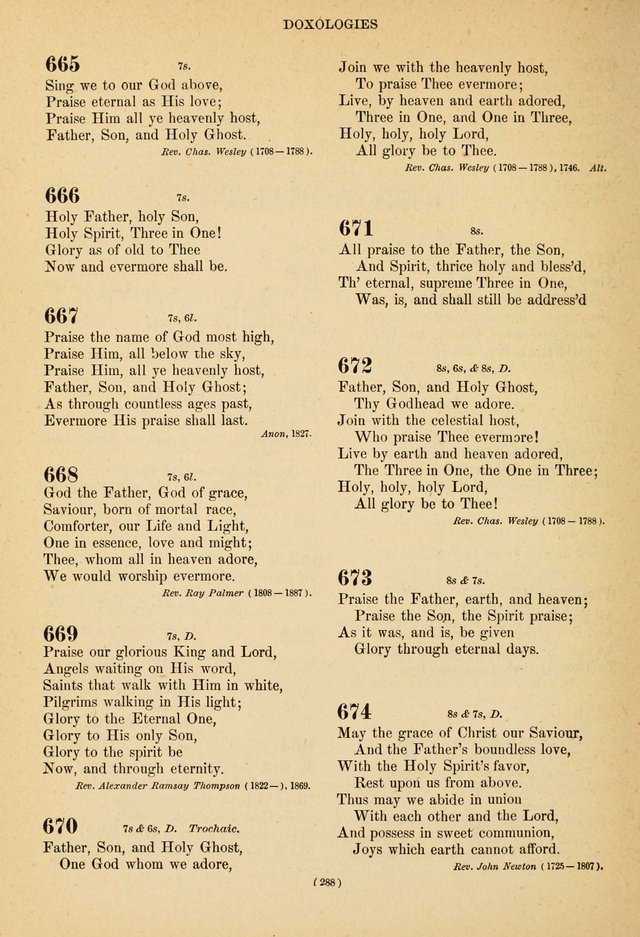 Hymns of the Ages for Public and Social Worship page 290